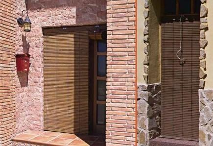 Persianas cadenilla sevilla a medida persianas madera pvc - Cortinas de madera enrollables ...